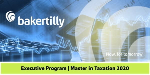 Executive Program Master in Taxation 2020